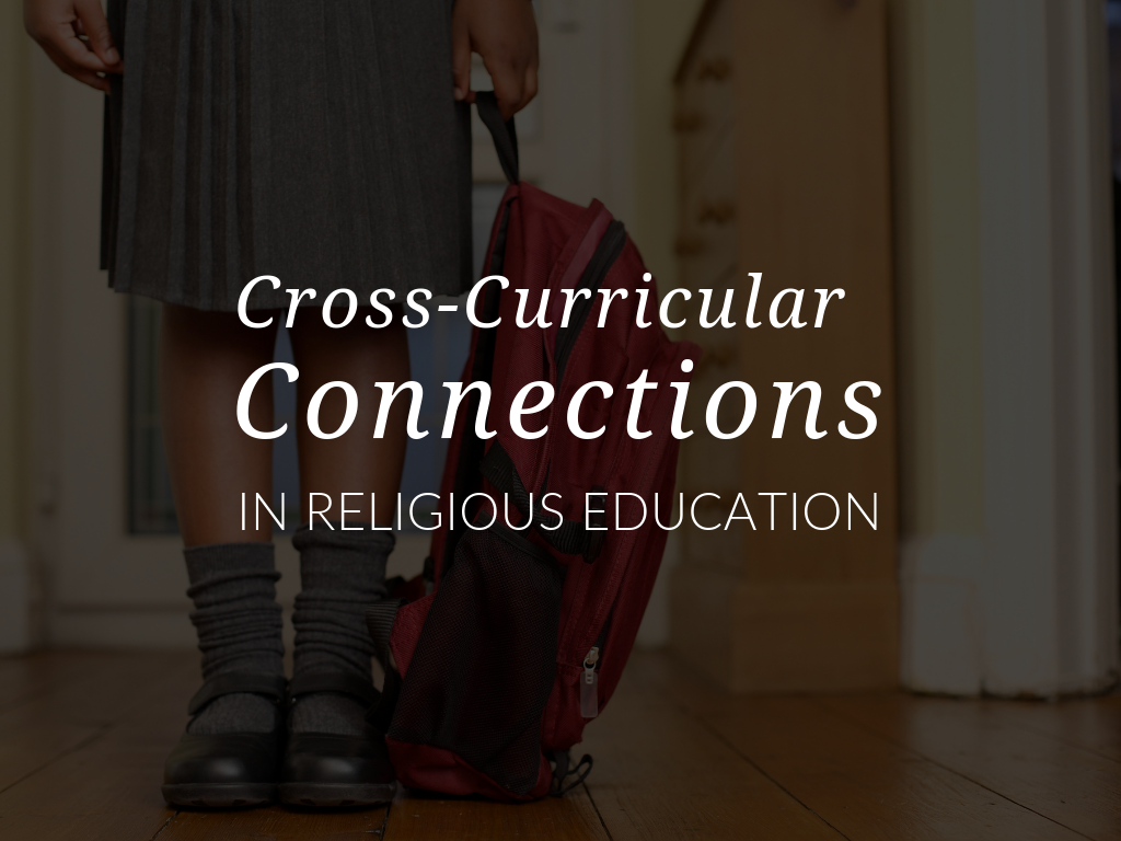 In this article, you'll discover how STREAM curriculum and using cross-curricular connections can help students and children in your religious education program see the interconnectedness of Religion and academic subjects. Plus, download a Cross-Curricular Connection Activity that primary grade teachers and catechists can use to connect forgiveness with science and mathematics.