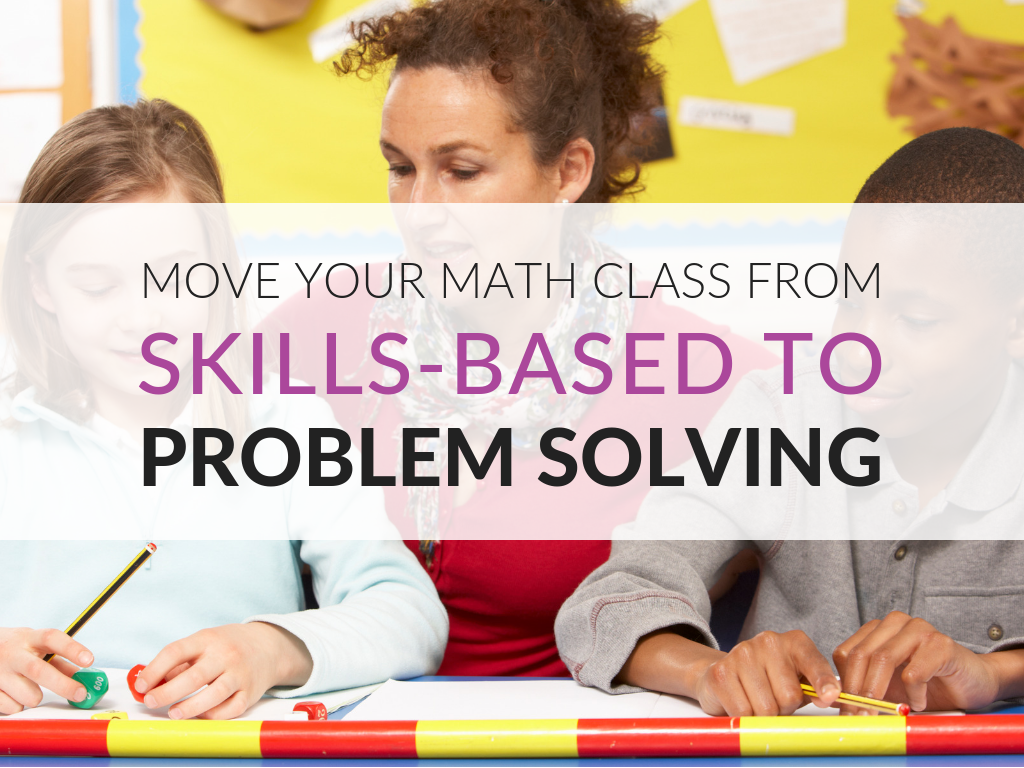 Moving students from having procedural math skills to being able to use those skills to actually solve problems is one of the biggest challenge that faces math teachers. In this article, you'll discover how teachers can get their math classroom moving in the direction of problem-solving. Plus, I am providing a variety of free downloads that supports making the shift from a focus on procedural math skills to a focus on problem-solving.