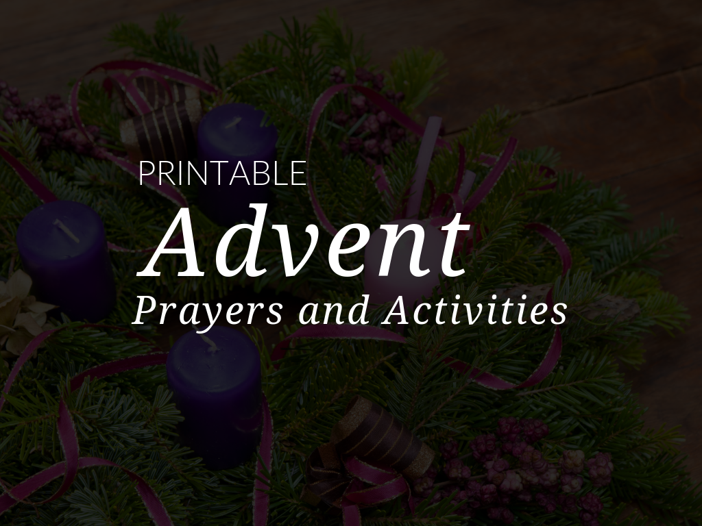 The Advent season is a time to pray to God, seek his forgiveness, and work for peace. Young children can strive to help other people see God's love during Advent. Download and print free Advent resources designed to be used at home or in the parish! Available in English and Spanish.