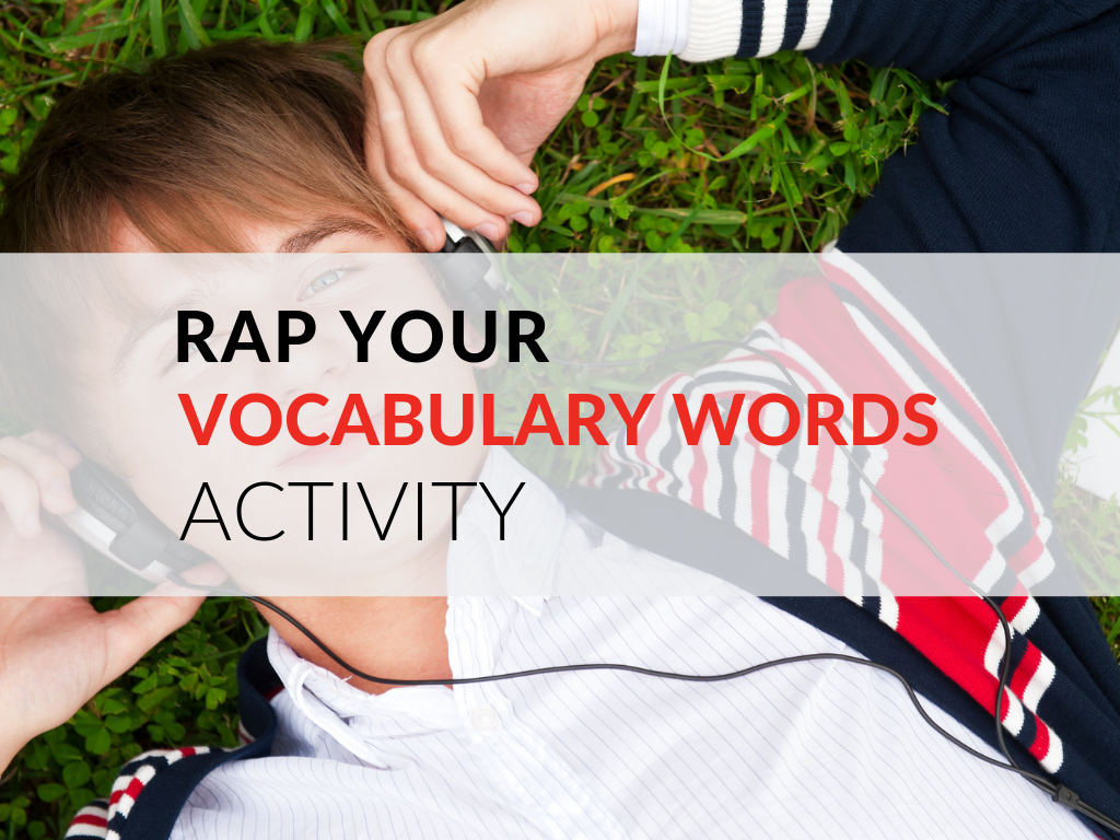 Make vocabulary practice fun for students with the Rap Your Words activity. In this article, I share how I get students to write and record rap lyrics using vocabulary words.