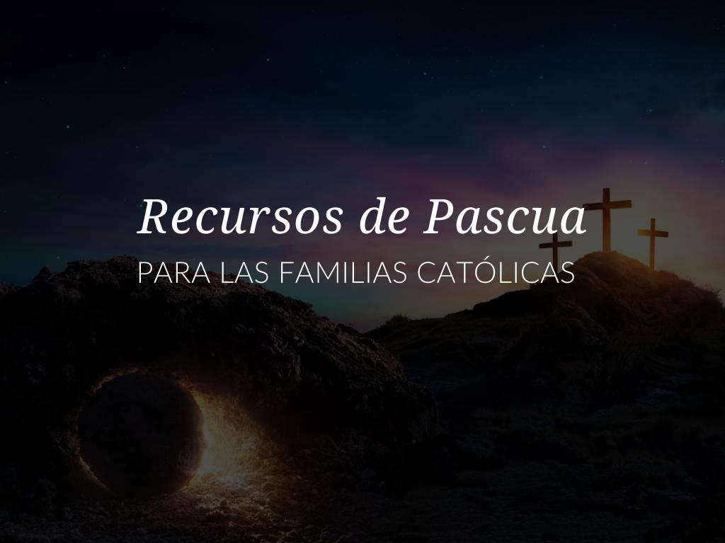 En este artículo, encontrará 9 recursos de Pascua que puede usar con sus estudiantes o niños. Estas lecciones, actividades y oraciones católicas de Pascua enriquecerán este tiempo litúrgico especial. recursos-de-pascua-para-usar-con-los-ninos