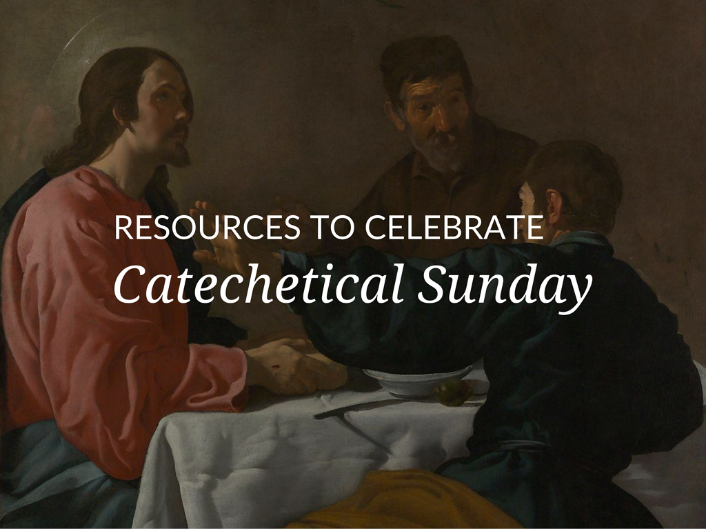 This year Catechetical Sunday will fall on September 15, 2019. Enhance your celebrations with an exclusive Catechetical Sunday Toolkit in English or Spanish.