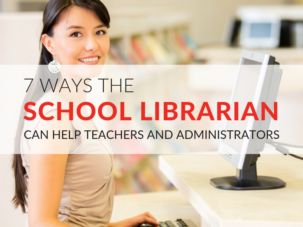 In this article, we'll explore the diverse role of librarian in schools, how librarians can support instruction, and the school library resources often overlooked by teachers, principals, and administrators.  Plus, I have a free printable tip sheet that outlines seven ways librarians can help in curriculum planning.