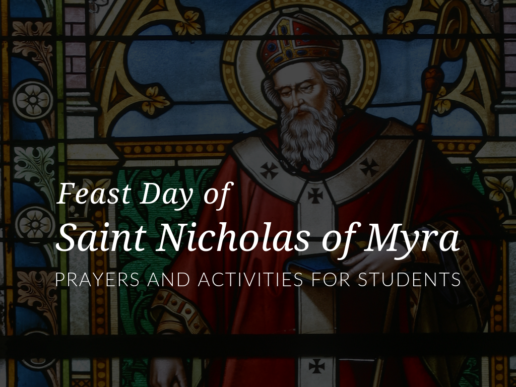 Printable Saint Nicholas Feast Day Prayers & Activities