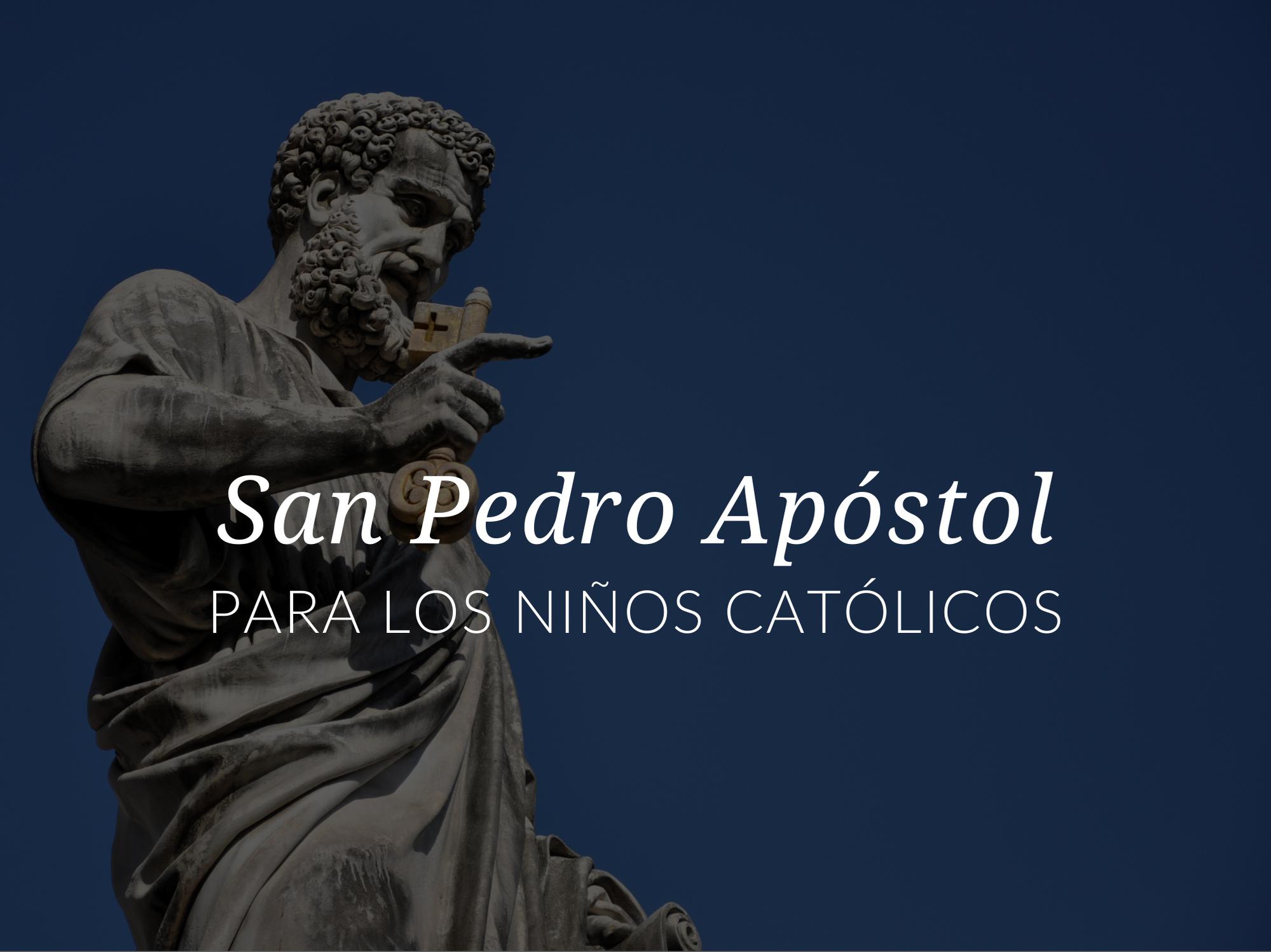 santos-populares-para-ninos-san-pedro-apostol