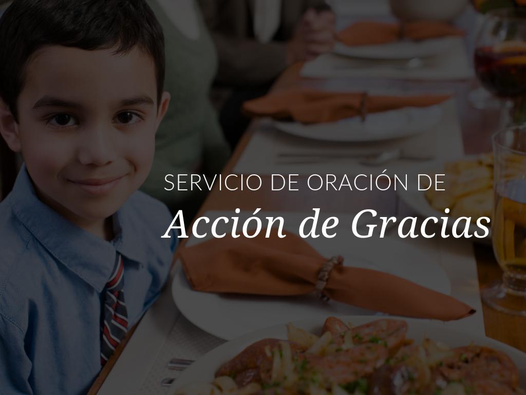 En este Servicio de oración de Acción de Gracias especial, los niños de todas las edades se reunirán para recordar que todas las cosas buenas provienen de Dios. Descarga disponible en español y en inglés.