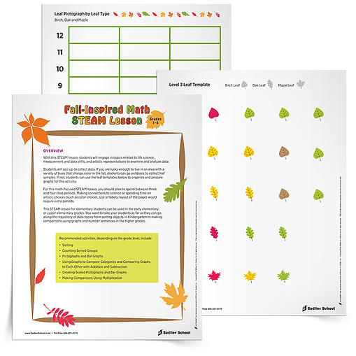 Fun Fall Math Steam Activities For Elementary Students Grades 1 6
