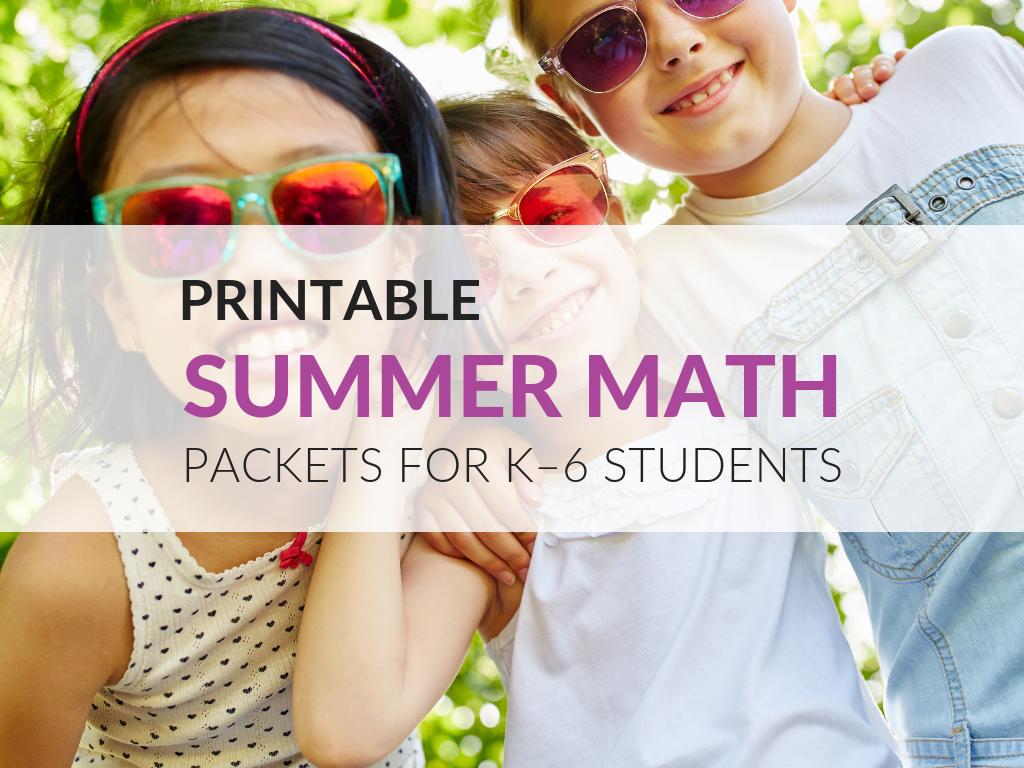 summer-math-packets-for-kids-summer-math-activities