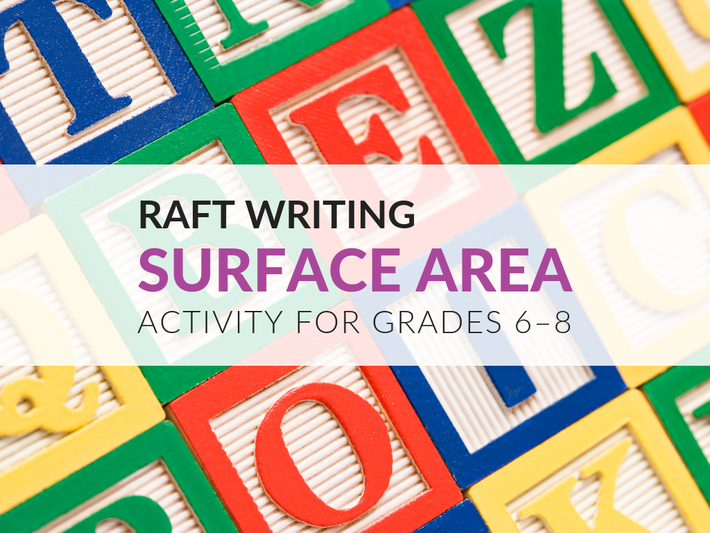 Today I'm sharing a surface area activity I've used in middle school classrooms since the mid-90s. I have since developed it to become a RAFT writing assignment. In this article, you'll find free printable instructions and rubrics for scoring this toy company themed surface area activity!