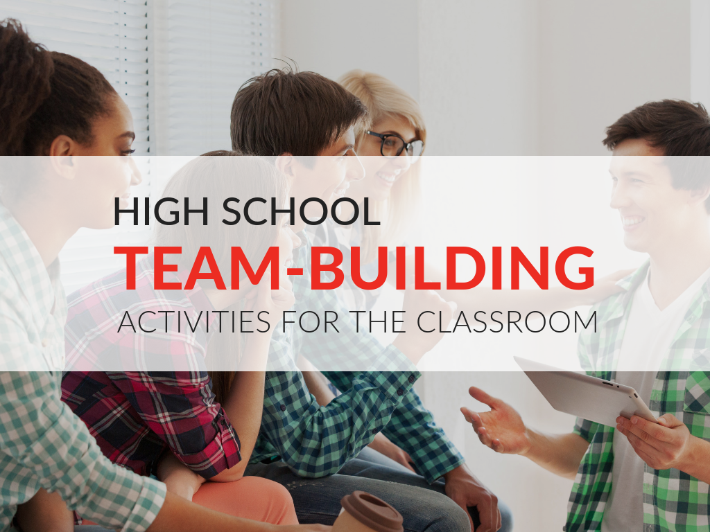 In this article, you'll discover how team-building activities benefit high school students, ways to ensure team-building activities will be successful, and a variety of classroom-tested activities. Plus, download free printable team-building activities that can be used at the start of a new school year or new semester!