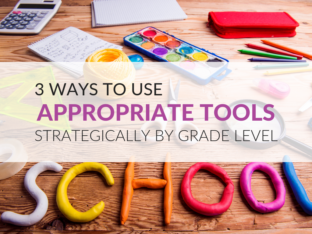 There is a great deal to say about how to use appropriate tools strategically (Mathematical Practice 5)! Here are examples of tools you can put into practice.