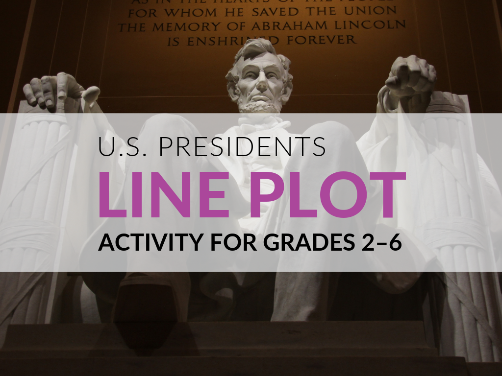 Presidents Day Activities This is a great math activity to use around Presidents' Day (in February), but you could do it at any time of the year! The idea for this Presidents' Day activity is very simple—students can easily learn how to construct these line plots based on the lengths of the presidents' first and last names. So, whether you are looking for a great activity for Presidents' Day or just working in your classroom or with your team on a unit about presidents, this free line plot activity PDF is for you! It is quick and easy to get you going and doesn't require any extra supplies.