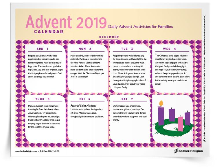 <em>Advent</em> Calendar