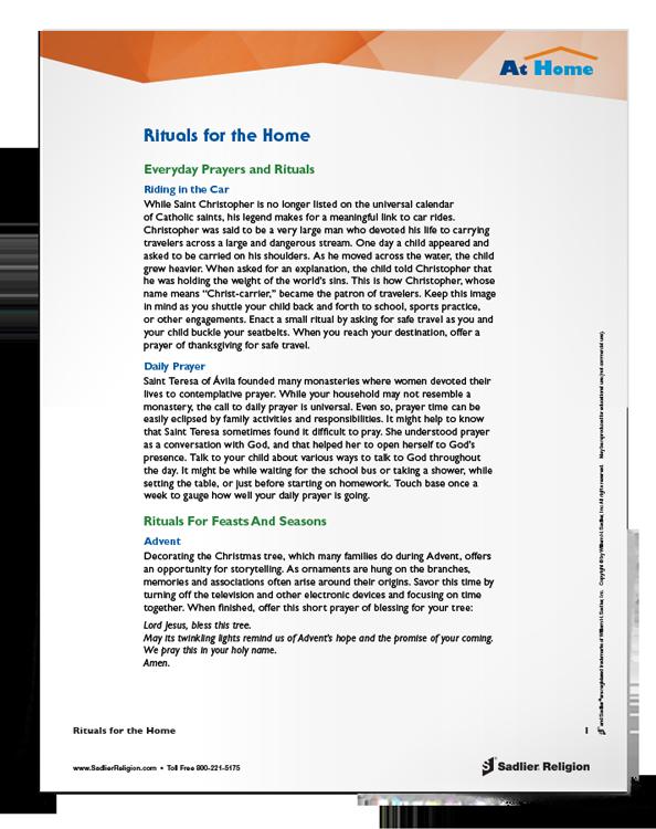 <em>Rituals for the Home</em> Tip Sheet