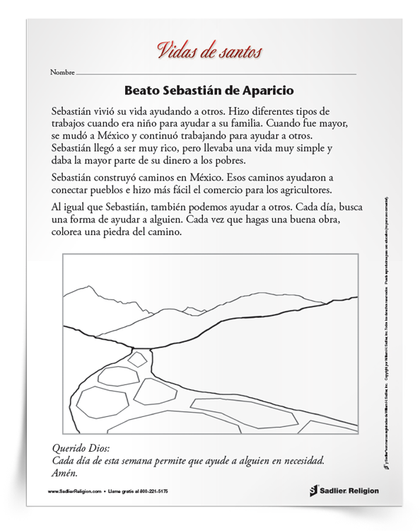 Actividad <em>Beato Sebastián deAparicio</em>