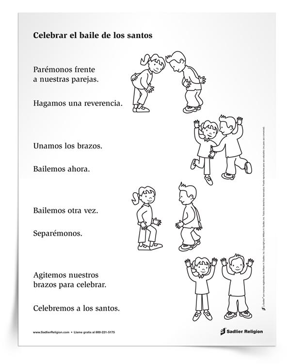 Actividad principal <em>Celebre la danza de los santos</em>