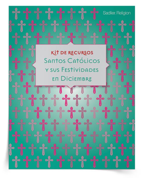 Kit de recursos <em>Santos católicos y sus festividades en diciembre</em>