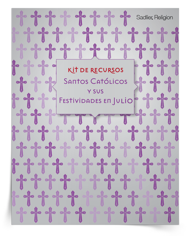 Kit de recursos <em>Santos católicos y sus festividades en julio</em>