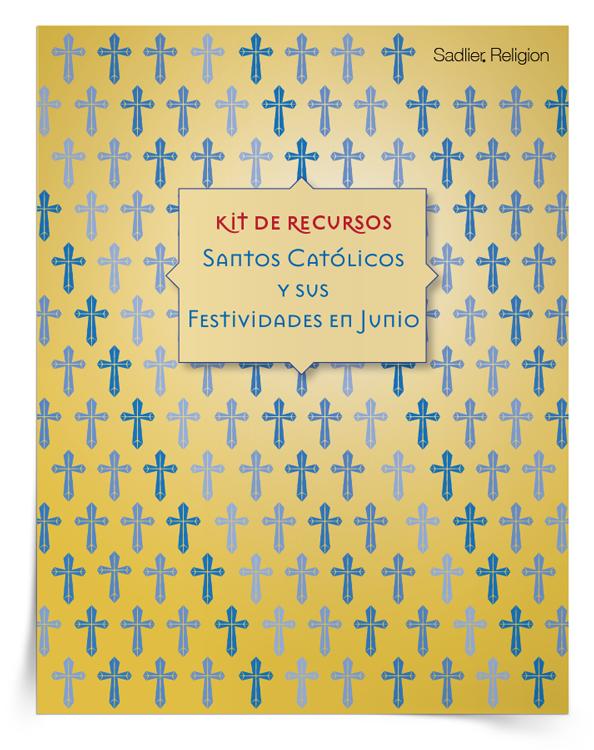 Kit de recursos <em>Santos católicos y sus festividades en junio</em>