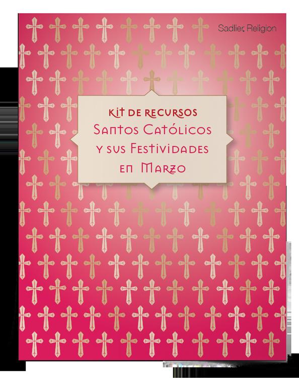 Kit de recursos <em>Santos católicos y sus festividades en marzo</em>