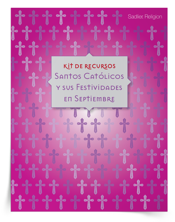 Kit de recursos <em>Santos católicos y sus festividades en septiembre</em>
