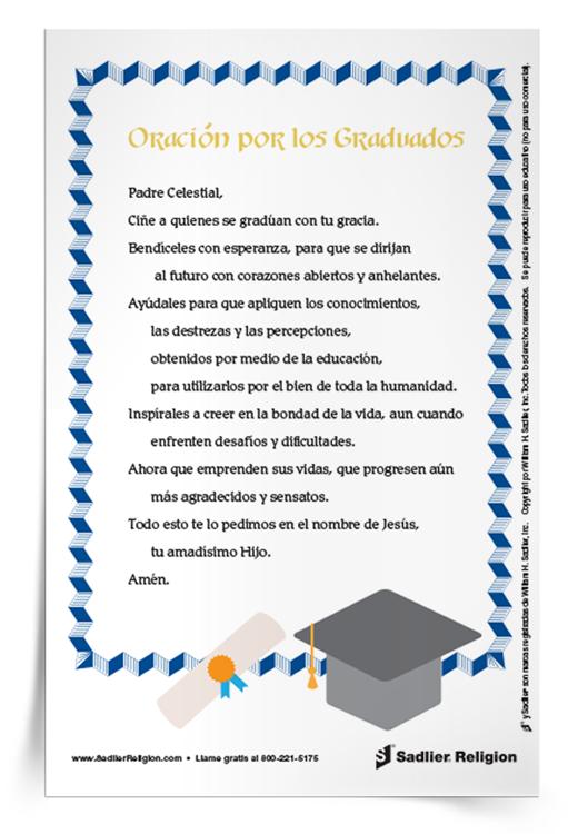 <em>Oración por los graduados</em>