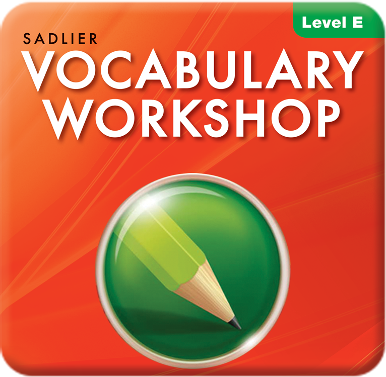 Vocabulary Workshop Enriched Edition Interactive Edition