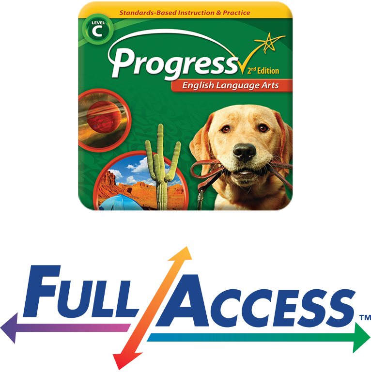 Full Access Progress English Language Arts image