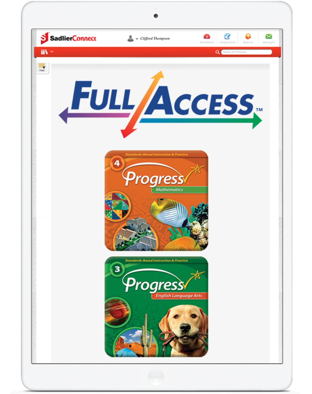 Full Access for Math and English Language Arts image