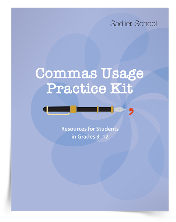 <em>Commas Usage Practice</em> Kit