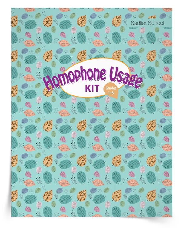 <em>Homophone Usage</em> Kit