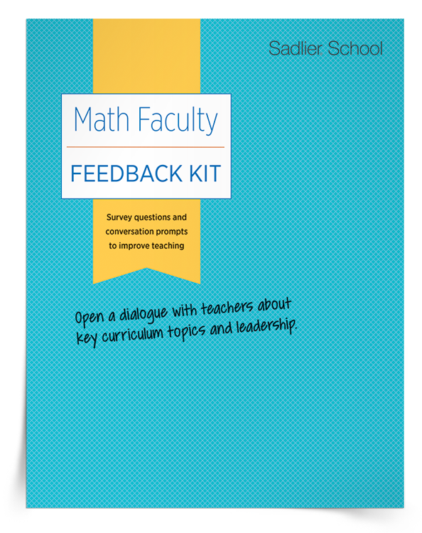 <em>Math Faculty Feedback</em> Kit