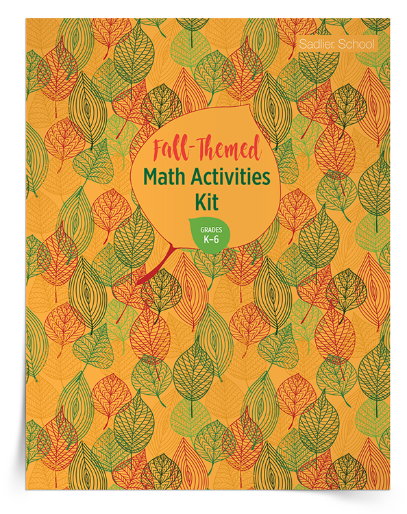 <em>Fall-Themed Math Activities</em> Kit