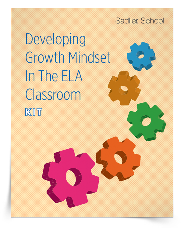 <em>Developing Growth Mindset In The ELA Classroom</em> Kit