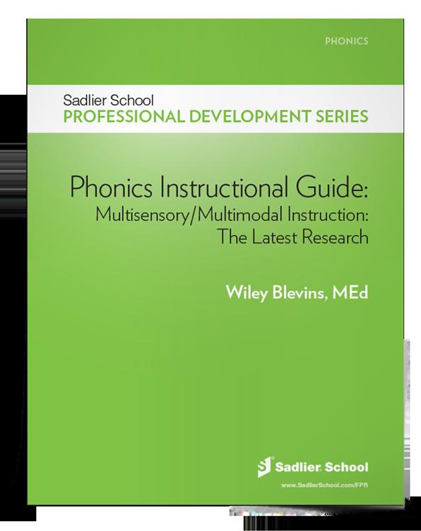 <em>Phonics Instructional Guide: Multisensory/Multimodal Instruction</em>