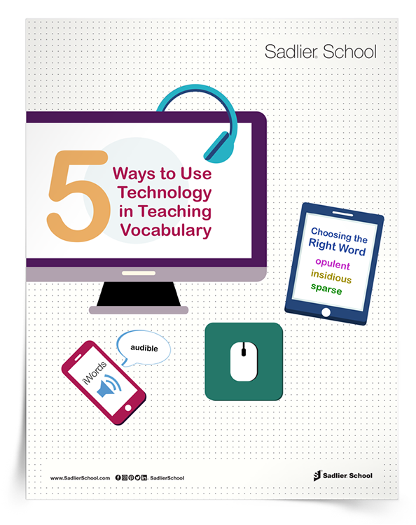 <em>5 Ways to Use Technology in Teaching Vocabulary</em> eBook