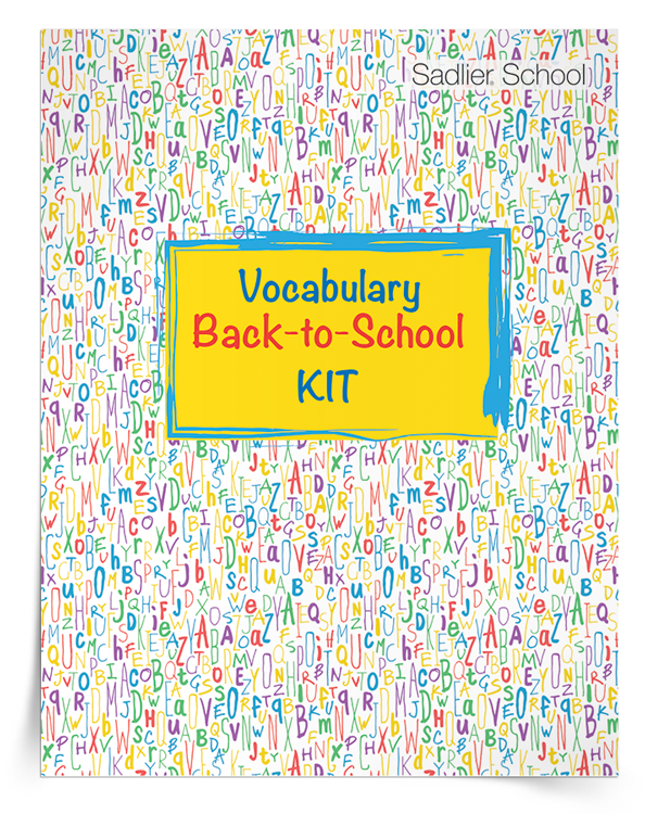 <em>Vocabulary Back-to-School</em> Kit