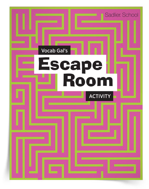 <em>Vocab Gal's Escape Room</em> Activity