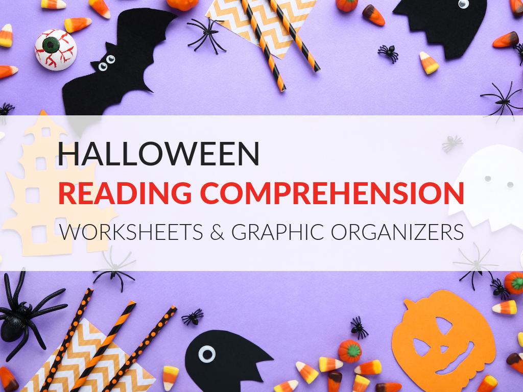 Halloween Reading Comprehension Worksheets and Graphic ...