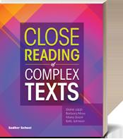 Close Reading of Complex Texts