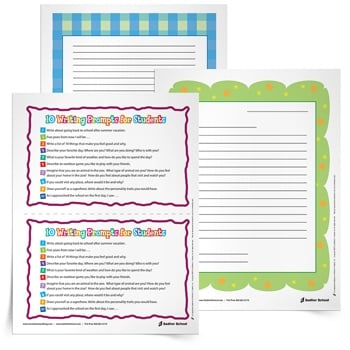 letter writing prompts