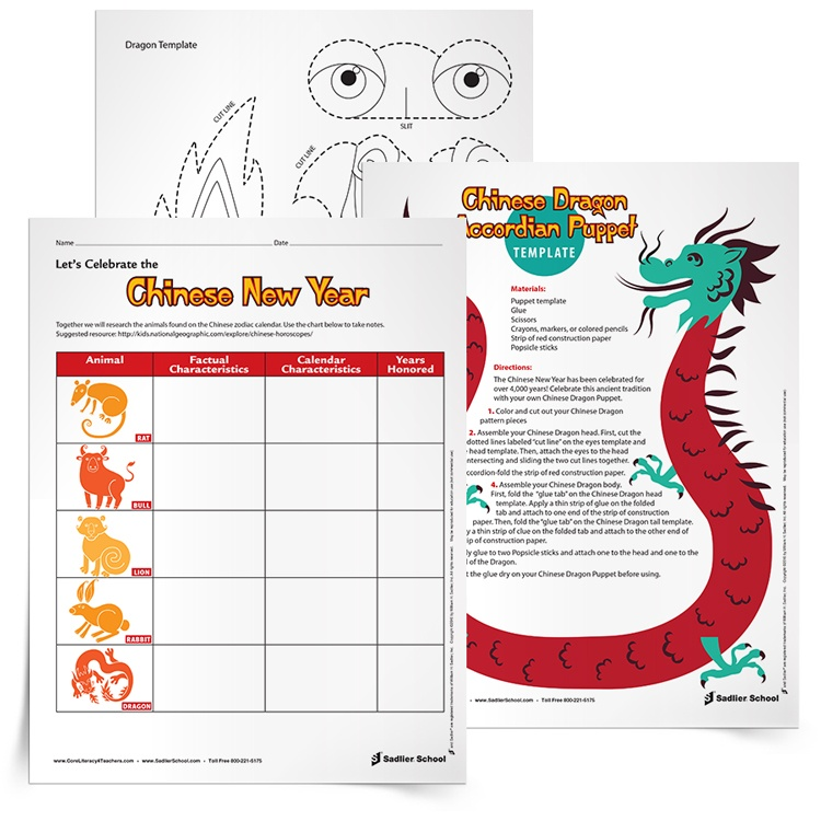 <em>Chinese New Year</em> Classroom Activities