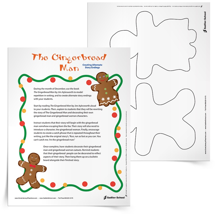<em>The Gingerbread Man</em> Activity