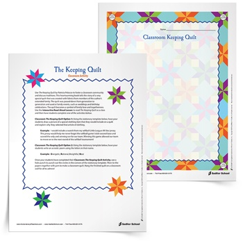 the keeping quilt activities
