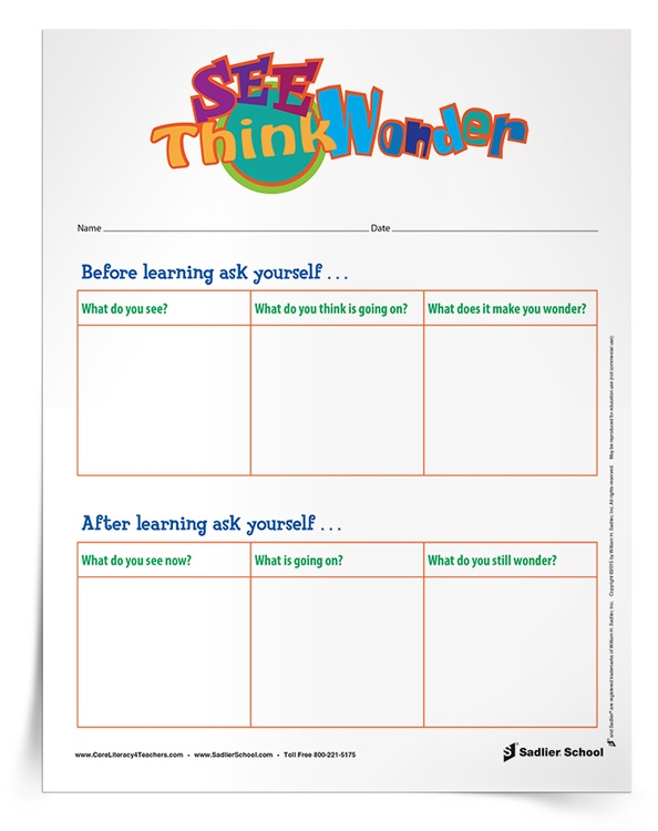 <em>See–Think–Wonder</em> Thinking Routine