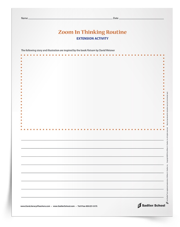 <em>Zoom In Thinking Routine</em> Activity