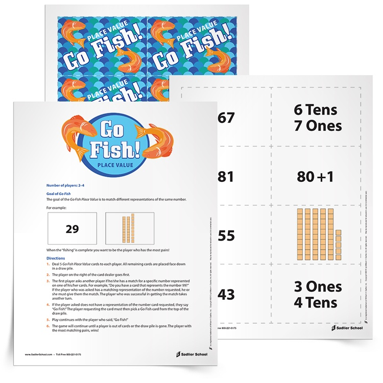 Math center ideas that will make implementation a success go fish place value math games for elementary fandeluxe Images