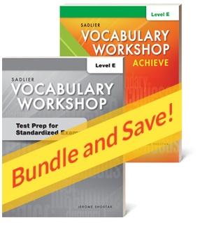 Vocabulary Workshop Achieve Assessments | Grades 9-12 ...