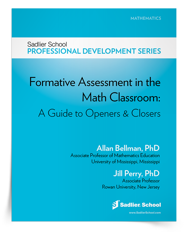 <em>Formative Assessment in the Math Classroom</em> eBook