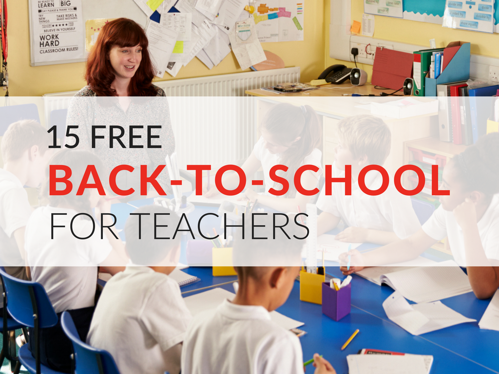 15 Free Back-to-School Printables for Teachers